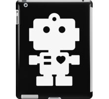 Robot - black & white iPad Case/Skin