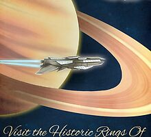 Visit the Historical Rings of Saturn Art by lynxcollection