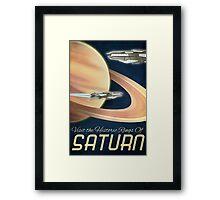 Visit the Historical Rings of Saturn Art Framed Print
