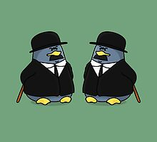 Thomson and Thompson Penguins by chubbycreations