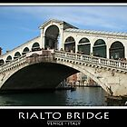 Rialto Bridge by Angelo Vianello