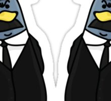 Thomson and Thompson Penguins Sticker
