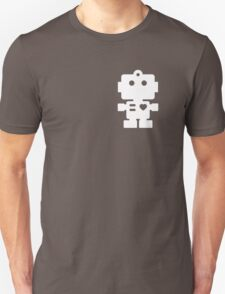 Robot - steel & white T-Shirt