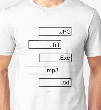 FORMAT CODING Unisex T-Shirt