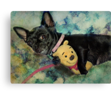 It's My Pooh Bear Canvas Print