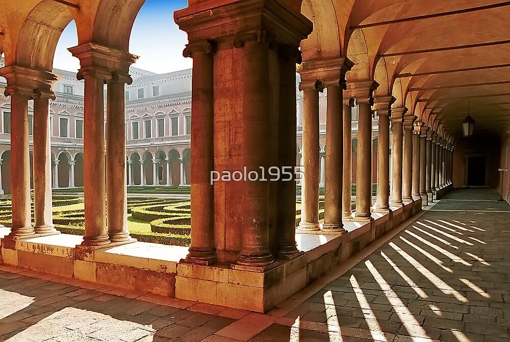 Venezia  - S.Giorgio Maggiore - Internal Cloister by paolo1955