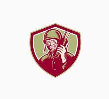 World War Two Soldier American Talk Radio Crest Unisex T-Shirt