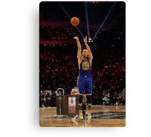 Stephen Curry - The MVP Canvas Print