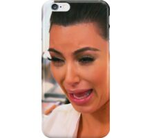 Kim Crying iPhone Case/Skin