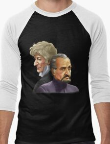 The Doctor and the Master Men's Baseball ¾ T-Shirt