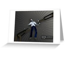 Graphic Novel Image - The Consumer Greeting Card