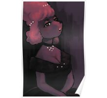 Poodle Girl Poster