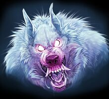 Red and Blue Wuff by SkiaSkai