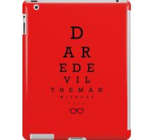Daredevil Ophthalmologist iPad Case/Skin