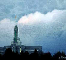 Mount Timpanogos LDS Temple by Ryan Houston