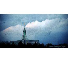 Mount Timpanogos LDS Temple Photographic Print