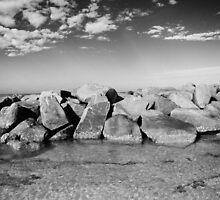 Beach Rocks by Carlos Restrepo