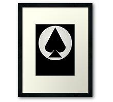 The Wild Card Framed Print