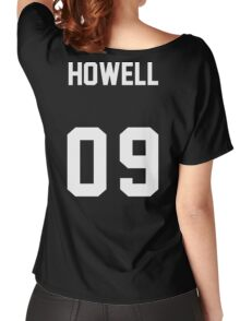 danisnotonfire Jersey (white on black) Women's Relaxed Fit T-Shirt