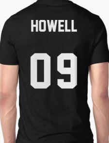 danisnotonfire Jersey (white on black) T-Shirt