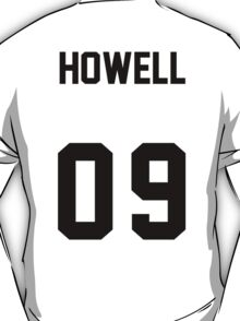 danisnotonfire Jersey (black on white) T-Shirt