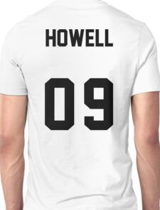 danisnotonfire Jersey (black on white) Unisex T-Shirt
