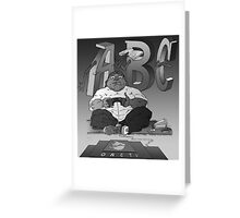 Graphic Novel Image - OBC T.V. Greeting Card