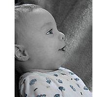 Precious Profile Photographic Print