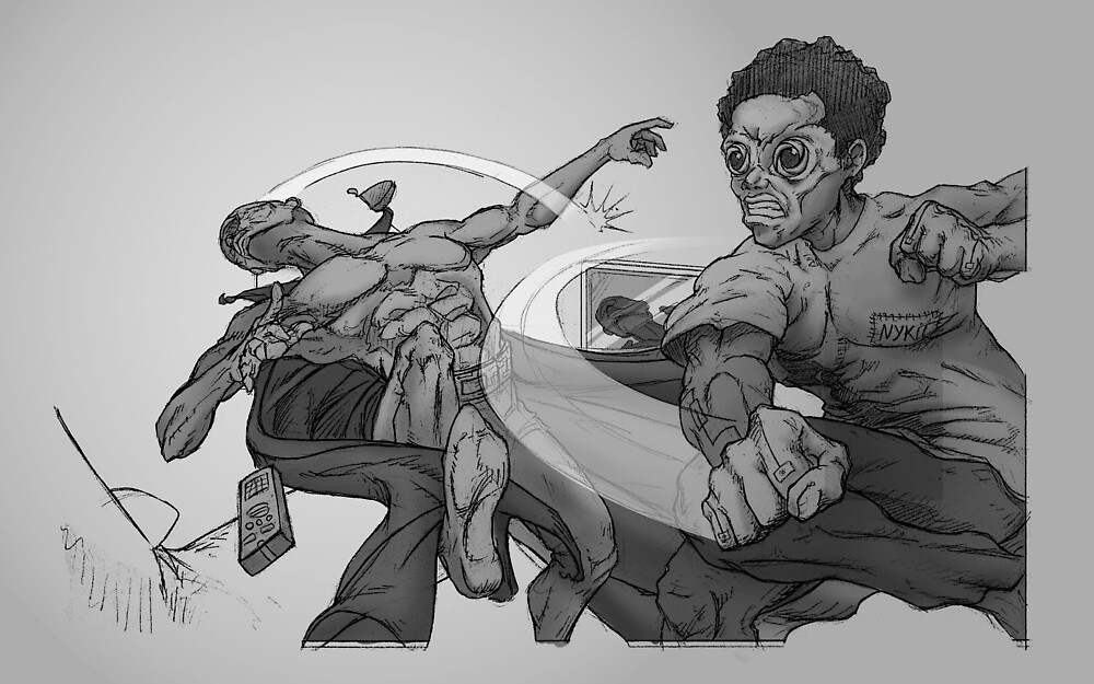 Graphic Novel Image - The Consumer v The One Eyed King by beyonder