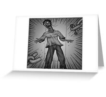 Graphic Novel Image - Breaking the chains of... Greeting Card