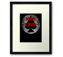 Man Cave - Poker Night Framed Print