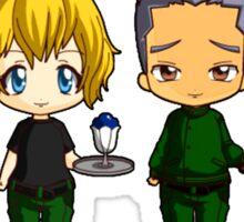 Chibi Stargate - Original Team Seasons 1-5 Sticker