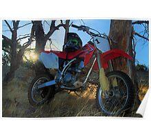 Trail Bike Poster