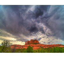 Cathedral Rock Vortex Photographic Print