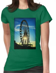 Seattle Great Wheel Womens Fitted T-Shirt