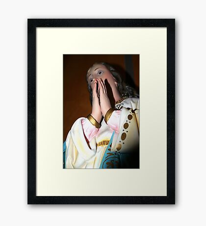 [ mary ] Framed Print
