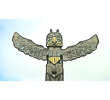 Totem Pole of Wisdom Photographic Print