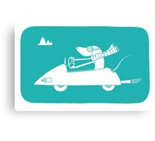 motoring mouse Canvas Print