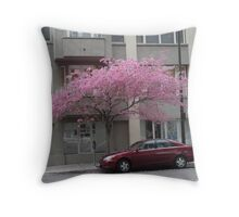 Urban Beauty Throw Pillow