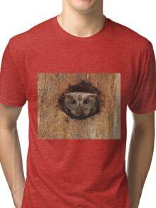 Hoot in a hole Tri-blend T-Shirt
