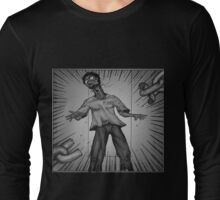 Graphic Novel Image - Consumer breaks the chains of... Long Sleeve T-Shirt