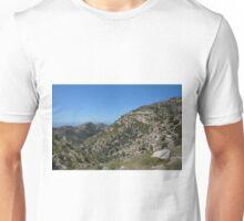Rocks, mountain and sky Unisex T-Shirt