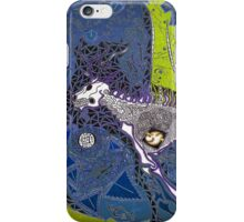 The Blue Hunt iPhone Case/Skin