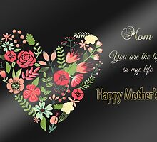 Mom, You Are the Light of My Life by Vickie Emms