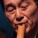 The Sakuhachi Master #2 by richardseah