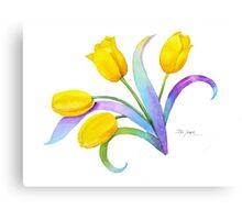 Tulip Fantasy, Just for Fun Canvas Print