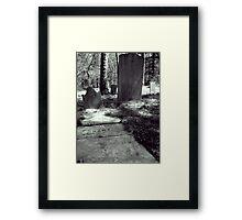 crowded. Framed Print