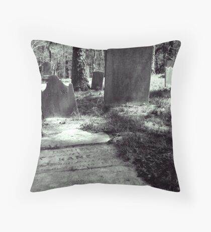 crowded. Throw Pillow