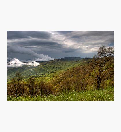 Spring Storm on the Blue Ridge  Photographic Print