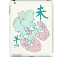 The Year of the Goat iPad Case/Skin